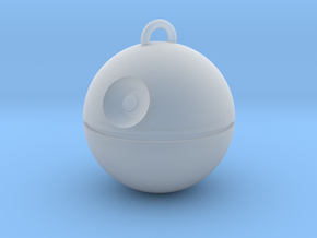 No Moon Pendant in Smooth Fine Detail Plastic