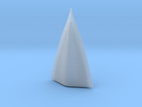 SR71 A1 (LSAR) Nose Cone in Smoothest Fine Detail Plastic
