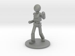 Prototype: Female Unarmed  in Gray Professional Plastic