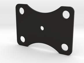 Bottom Plate 360 in Black Natural Versatile Plastic