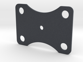 Bottom Plate 360 in Black Professional Plastic