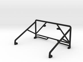 JK Roll Bar V2 in Black Natural Versatile Plastic