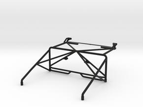 JK Roll Cage w/ Light Bar Mount V2 in Black Natural Versatile Plastic