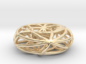 toroidal geodesics small in 14K Yellow Gold