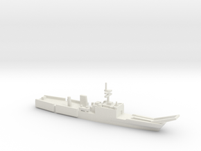 Newport-class LST, 1/1800 in White Natural Versatile Plastic
