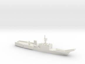 Newport-class LST, 1/2400 in White Natural Versatile Plastic