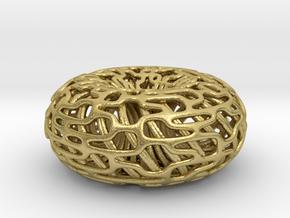 Torus Inside A torus in Natural Brass