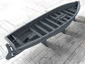 1/128 Royal Navy 42ft Motor Launch x1 in Smooth Fine Detail Plastic
