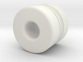 Z-n24030X in White Natural Versatile Plastic