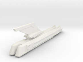 2500 Neck & double engines in White Natural Versatile Plastic