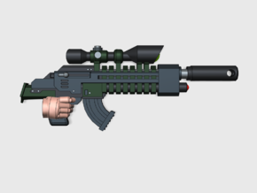 10x Base: Scout Snipe-Rifle HP1 in Smooth Fine Detail Plastic