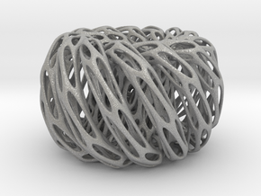 Perforated Twisted Double torus in Aluminum