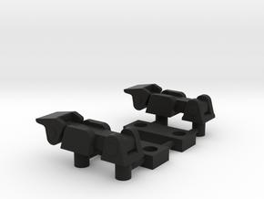 Hood Latch in Black Premium Versatile Plastic