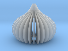 lampshade NO.1 in Smooth Fine Detail Plastic: Large