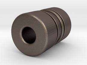 N-n36055X in Polished Bronzed-Silver Steel