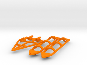 1/64 (S scale) 60 ft land roller frame in Orange Processed Versatile Plastic