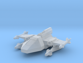 285 Scale Kzinti TAAS Fighter WEM in Smooth Fine Detail Plastic