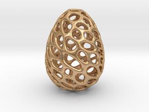 Dino Dragon Egg in Natural Bronze