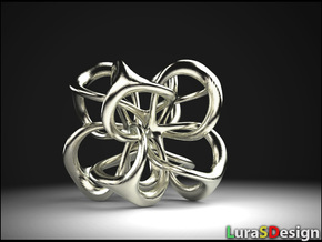 Metatron revisited in Polished Bronzed Silver Steel