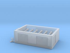 SPMT Hydraulikmodul 10Grad 1:120 TT in Smooth Fine Detail Plastic