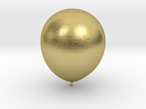 Balloon! in Natural Brass: Small