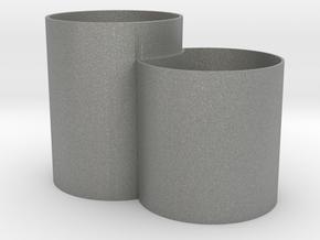 Vase Mod 005 in Gray Professional Plastic
