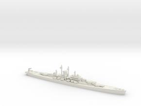 USS Des Moines 1/1200 in White Natural Versatile Plastic