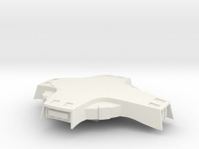 Monocerous Conversion Mark 3 -extended bridge area in White Natural Versatile Plastic