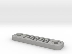 Caliber Marker - MLOK - 9mm in Aluminum