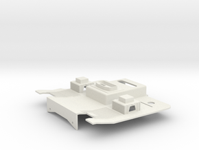 Tamiya 1:14 AROCS Interior / Fahrerhausboden in White Natural Versatile Plastic
