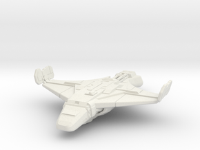 Sebrus: 1/540 scale in White Natural Versatile Plastic