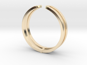 Loop Ring in 14K Yellow Gold: Small