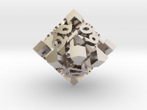 Intangle d10 Decader in Platinum