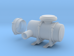 Air-filter-unit-b in Smooth Fine Detail Plastic