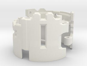 Graflex2.0 - Master Chassis - 3/7 Shell 2 in White Premium Versatile Plastic