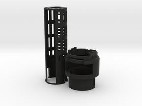 Graflex2.0 - Master Chassis - 1/7 Battery in Black Premium Versatile Plastic