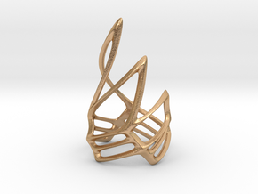 Swirling Claw Ring in Natural Bronze: 7 / 54