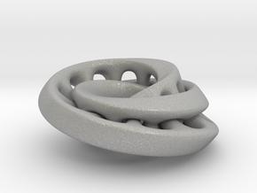 Nested mobius strip in Aluminum