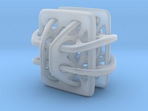 Borromean link nexus modified in Smooth Fine Detail Plastic
