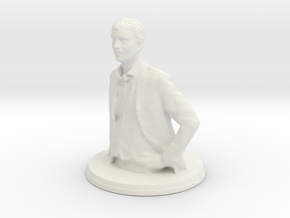 Printle B Abdullah Gul - 1/24   in White Natural Versatile Plastic
