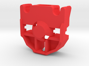 Articulated Mata Hand in Red Processed Versatile Plastic