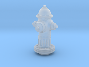 Fire Hydrant 1/20 scale in Smooth Fine Detail Plastic