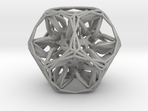 Organic Dodecahedron star nest in Aluminum
