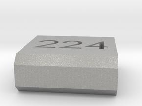 Caliber Marker - Picatinny - 224 Valkyre in Aluminum