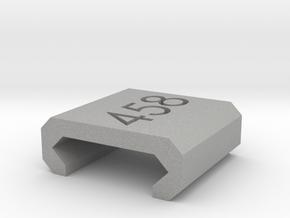 Caliber Marker - Picatinny - 458 SOCOM in Aluminum
