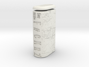 TLF# - Battery Case - 18650 in White Natural Versatile Plastic