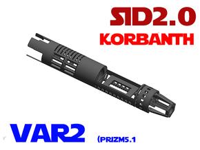 SID2.0 Var2 - Prizm5.1 + 18650 in White Natural Versatile Plastic