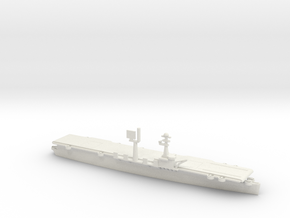 1/700 Scale Saipan Class Aircraft Carrier in White Natural Versatile Plastic