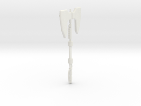 MasterMakedForceAxe1pt in White Natural Versatile Plastic