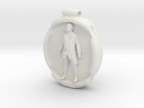 Cosmiton P George Washington - 65 mm in White Natural Versatile Plastic